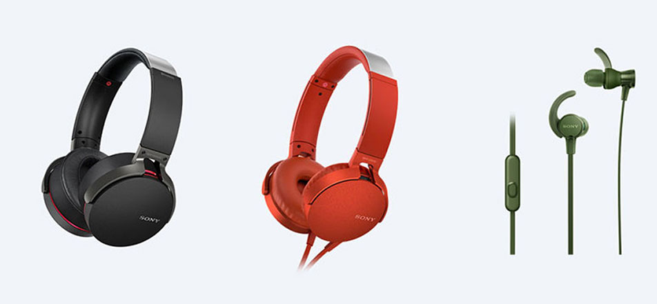 Sony launches all new range of Extra Bass Headphones & Wireless speakers in India, starting at Rs. 2,790