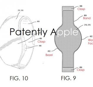Apple watch patent design