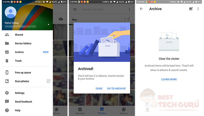 Google Photos gets new 'Archive' feature on Android and iOS