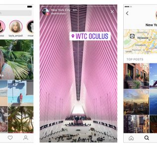 Instagram Location stories on Explore
