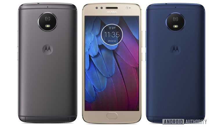 Moto G5S and Moto G5S Plus renders leaked, hints at a Moto G5 like design