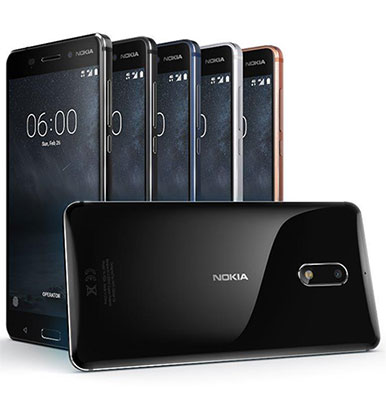 Nokia 3, Nokia 5 and Nokia 6 with Android 7.1.1 Nougat launched in India starting at Rs. 9,499