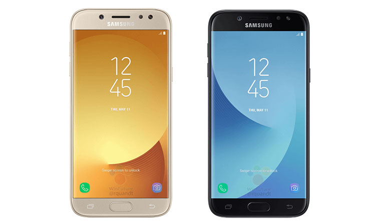 Press renders of Samsung Galaxy J5 (2017) & J7 (2017) leaked along with full specifications and prices