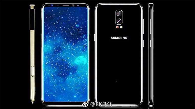 Samsung Galaxy Note 8 to sport a 6.3-inch display along with Dual rear camera setup