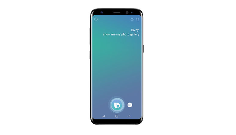 Bixby voice command