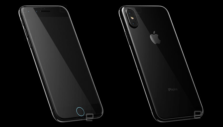 iPhone 8 leaked render