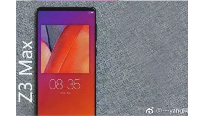 Lenovo ZUK Z3 Max design & specs leaked; hints at a Bezel-less display, Snapdragon 836 SoC & 8 GB RAM