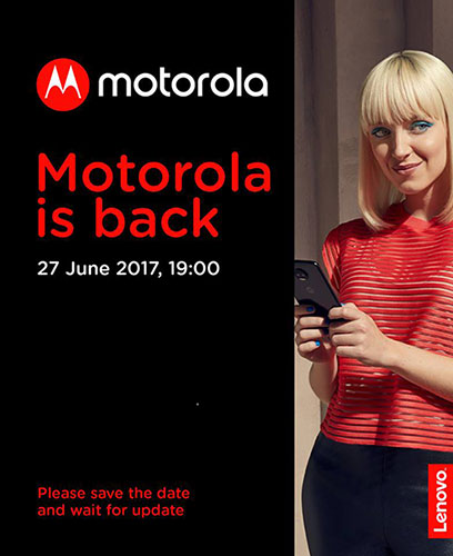 Motorola Moto Z2 Press invite