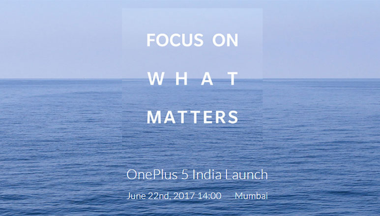 OnePlus 5 to be unveiled globally on 20th June, to launch in India on 22nd June; new press render leaked