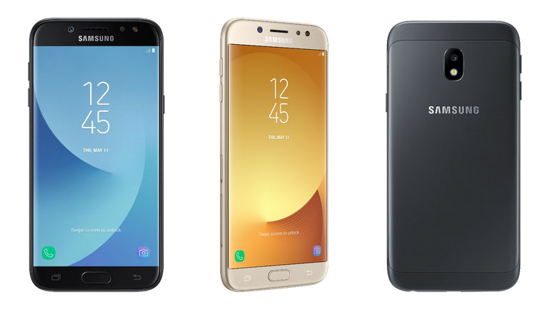 Samsung Galaxy J3 (2017), Galaxy J5 (2017) and Galaxy J7 (2017) launched in Europe