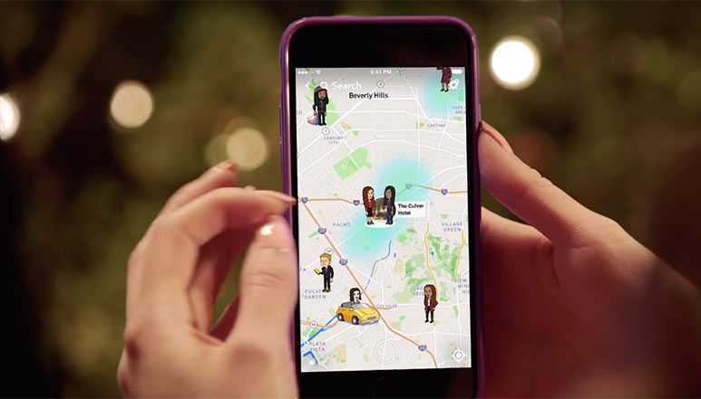 Snapchat rolls out a new location sharing featured called 'Snap Map'