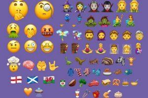 Unicode new emojis