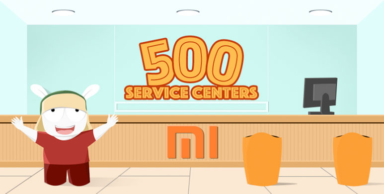 Xiaomi now has 500 service centres in India, celebrates by offering Rs. 500 discount on smartphone repairs