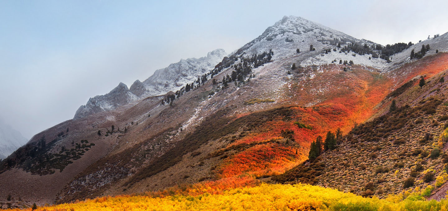 Download the new macOS High Sierra stock wallpaper