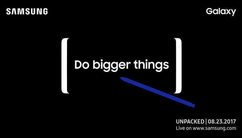 Samsung Galaxy Note 8 launch date officially confirmed, to launch on 23rd August in New York