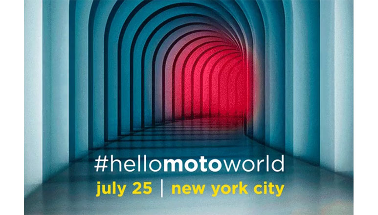 Motorola to launch a new smartphone at its event scheduled on 25th July in New York