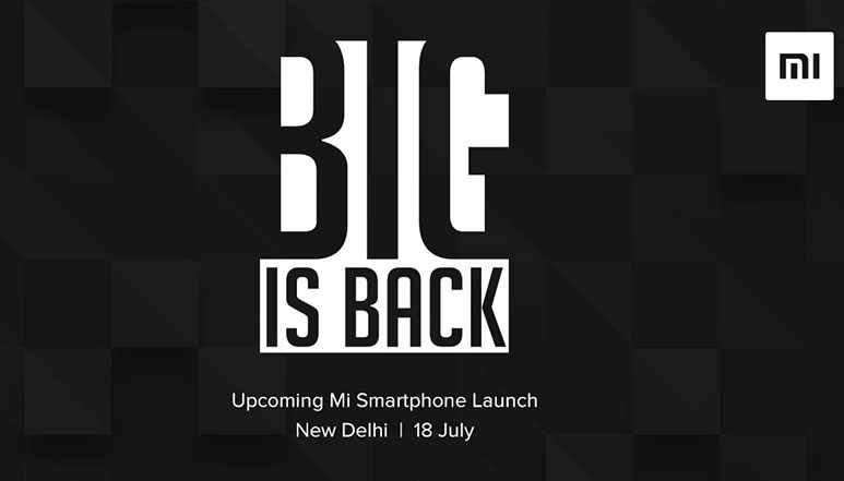 Xiaomi to launch a new phone on 18th July in India; could also launch a new smartphone sub-brand this month