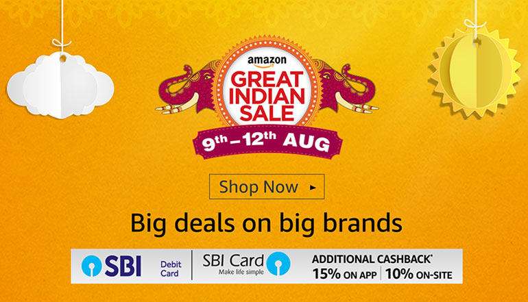 Amazon-Great-Indian-Sale-9th-to-12th-August-2017