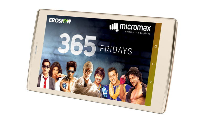 Micromax Canvas Plex with 8-inch HD display and one year Eros now subscription launched at Rs. 12,999