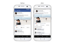 Facebook new design