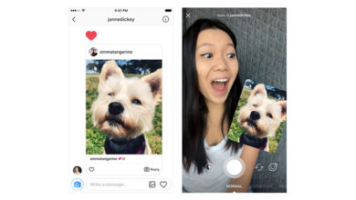 Instagram adds new interesting ways to reply with photos and videos to direct message