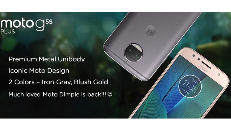 Moto G5S and Moto G5S Plus with metal unibody and upgraded cameras launched in India starting at Rs. 13,999