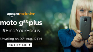 Moto G5S Plus to launch on 29th August in India, to be an Amazon Exclusive