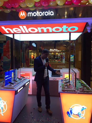 Motorola launches Moto Hub offline stores in India, to offer exclusive offline experience for its smartphones