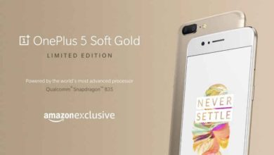 OnePlus 5 launched in new Soft Gold limited edition variant, to be available in India from 9th August