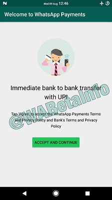 WhatsApp UPI Payments service spotted in the Android beta version of the app, roll out expected soon