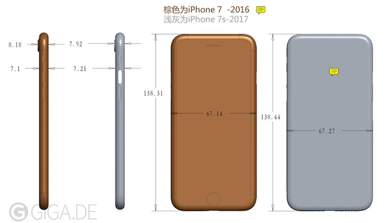 Apple's upcoming iPhone 7s could be thicker than its predecessor, to come with glass back: Report