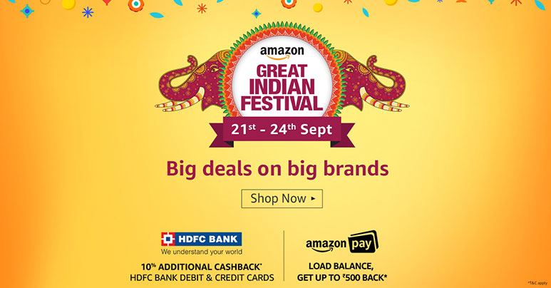 Amazon Great Indian Festival begins with Prime early sale: Top deals on mobiles, laptops, powerbanks and more