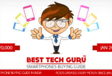 Best Phones under 20000 Rs (January 2018) - Best Tech Guru
