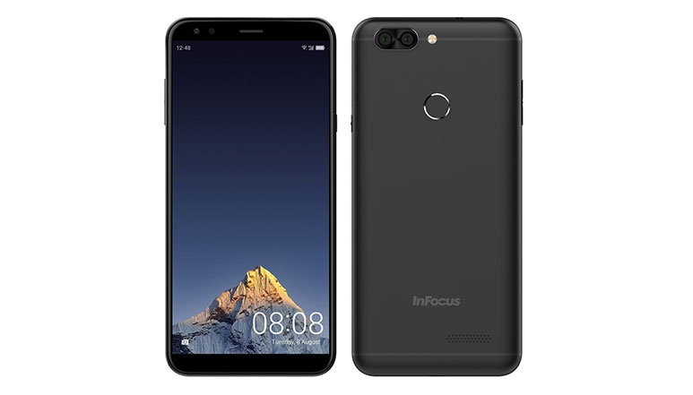 InFocus Vision 3 bezel less smartphone with 5.7 inch HD+ 18:9 display, Dual rear cameras launched at Rs. 6,999