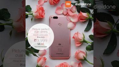 Xiaomi Mi A1 gets a permanent price cut of Rs. 1,000 in India