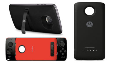 Motorola launches JBL Soundboost 2, GamePad & Moto TurboPower Pack Mods; can be rented at Rs. 399/week