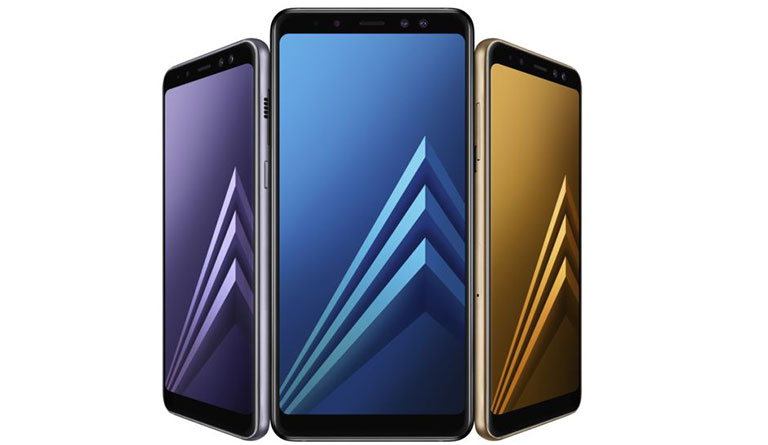 Samsung Galaxy A8 (2018) & A8+ (2018) with Infinity Display, 16MP + 8MP Dual front Cameras launched in Europe
