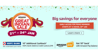 Amazon's Prime Early Access sale goes live with offers on Smartphones & more; Great Indian Sale to start at midnight