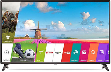 LG 80 cm (32 inches) 32LJ573D HD Ready LED Smart TV With Wi-Fi Direct - Best LED TV under 30000 - Best Tech Guru
