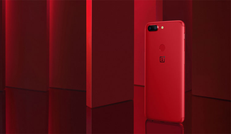 OnePlus 5T Lava Red edition may launch in India on 11th January 2018