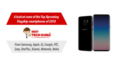 Here are the Top Upcoming Flagship Smartphones of 2018 to look out for