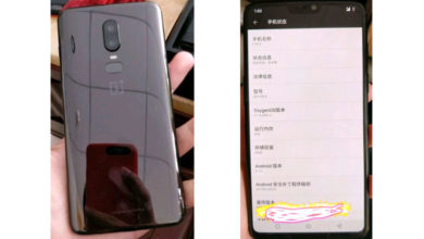 OnePlus 6 live images leaked, show edge-to-edge display with iPhone X like 'notch' and beautiful glass back design