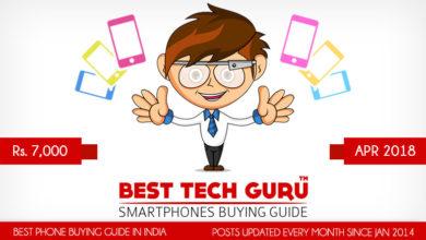 5 Best Phones under 30000 Rs (April 2018)