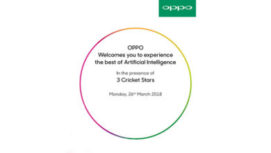 Oppo F7 to come with 25 MP Front Camera, AI features, launch set for March 26; reveals Oppo