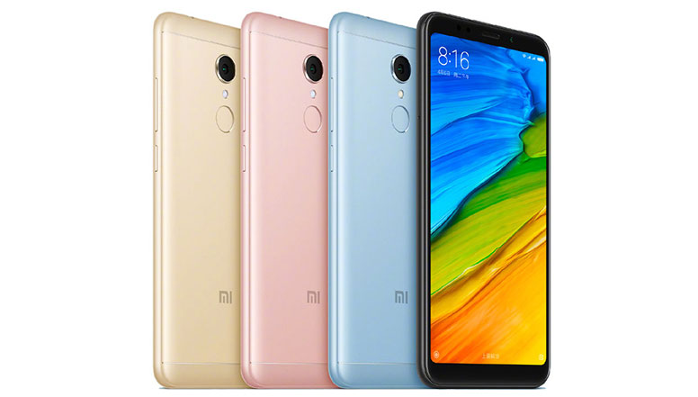 Xiaomi Redmi 5 with 5.7inch HD+ display, Snapdragon 450, 12 MP camera launched in India starting at Rs. 7,999