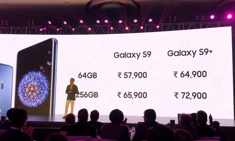 Samsung Galaxy S9 and S9+ launched in India starting at Rs. 57,900 and Rs. 64,900 respectively