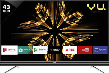 VU-43-Inch-4K-Android-TV---Best-Tech-Guru - best LED TV under 40000