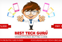 5 Best Phones under 25000 Rs (May 2018)