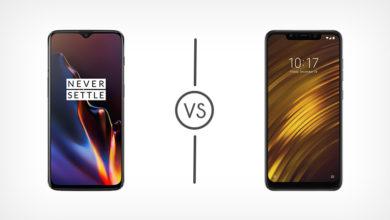 OnePlus 6T vs Poco F1 Comparison - Best Tech Guru