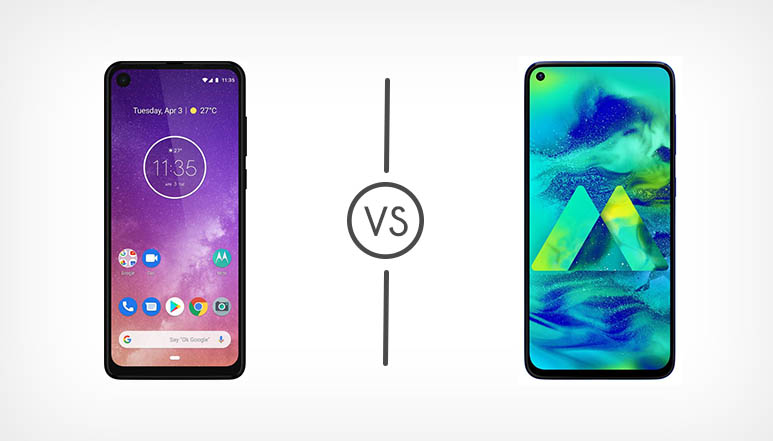 Motorola One Vision VS Samsung Galaxy M40